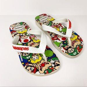 f4b358d3a162 Havaianas Shoes - HAVAIANAS Kids Mario Bros Flip Flops Unisex